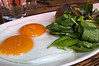Sunny Side up Duck Eggs