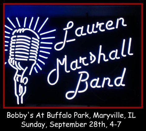 Lauren Marshall Band 9-28-14
