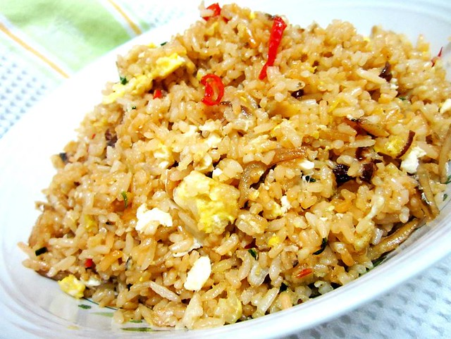 Salted fish & air budu kampung-style fried rice