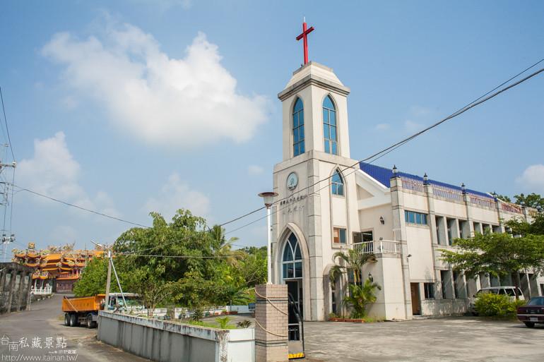 台南私藏景點-南化長老教會 (1)