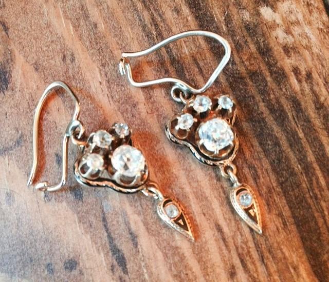 Annie Higgins Wedding Earrings