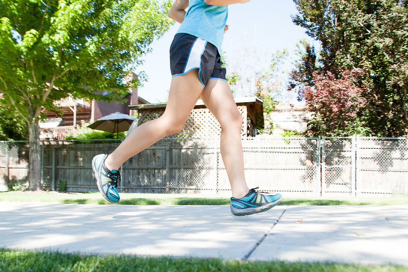 Woman Running, Jogging - Out for a Jog