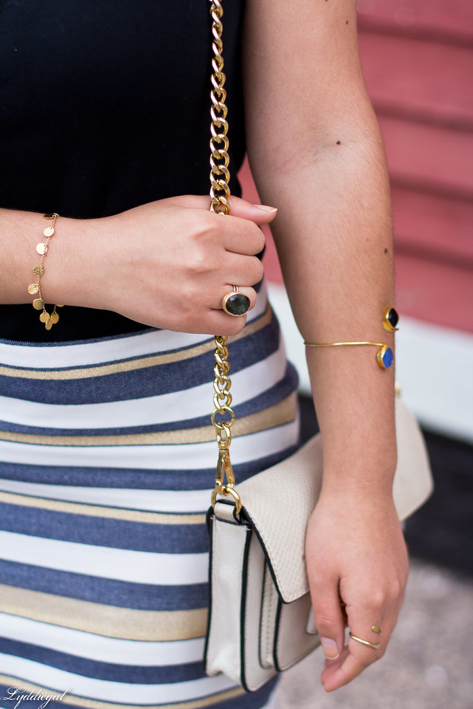 striped mini skirt, black tee, studded bag-10.jpg