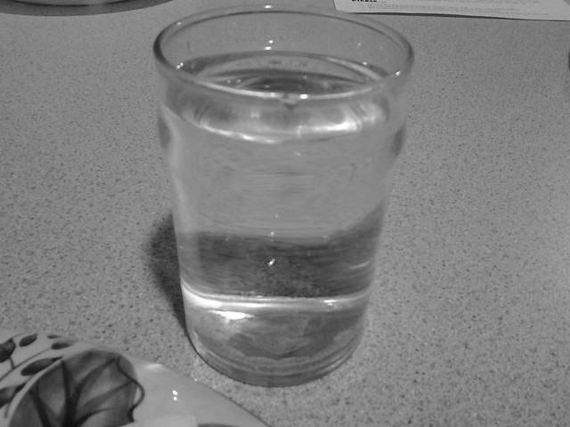Header of A Glass of Water