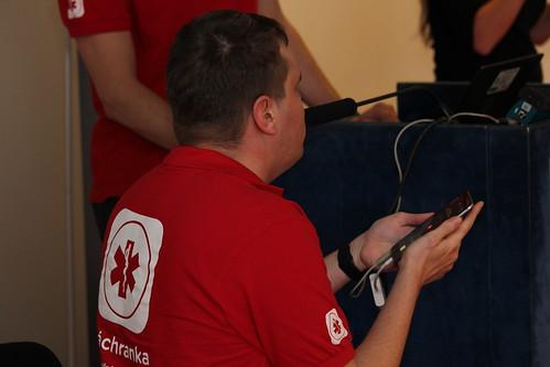 Karel Giebisch, IT Gieb: Záchranka jako příklad přístupné mobilní aplikace pro nevidomé