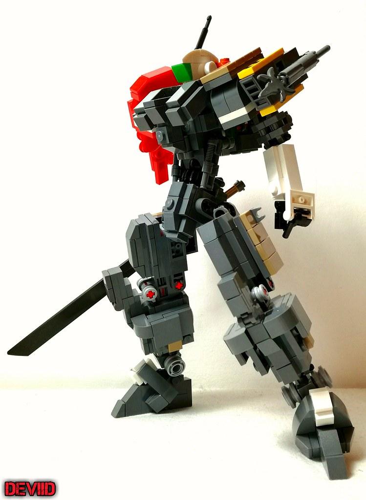 Redeath T-03 (custom built Lego model)