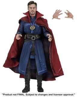 最愛畫圈圈的超級英雄?!NECA MARVEL 系列【奇異博士】Doctor Strange 1/4 比例可動人偶作品