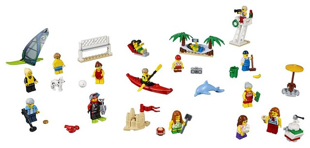 60153 People Pack – Fun at the Beach 2