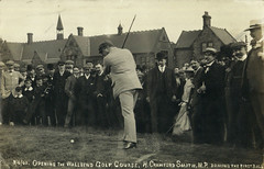 The opening of Wallsend Golf Course
