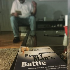 What a great #menbiblestudy with the  #everymansbattle with #menofgrace