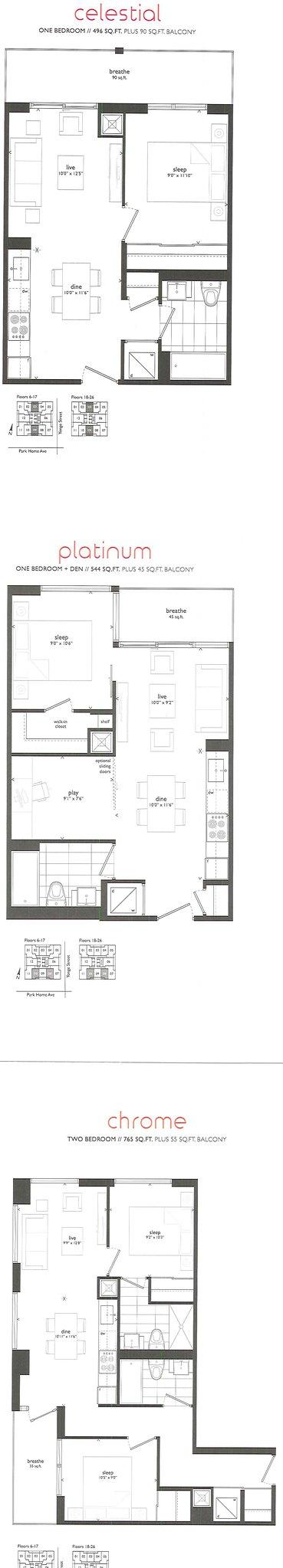 Recommend Floorplan
