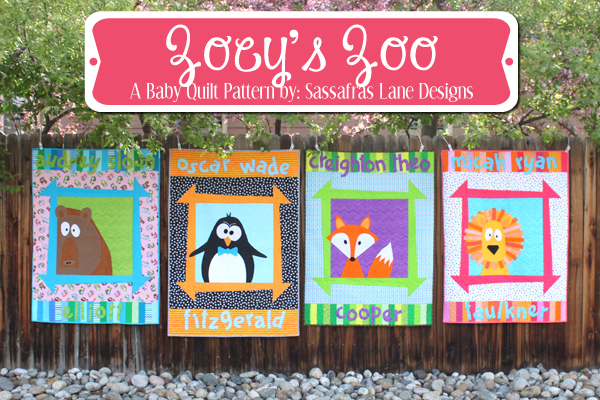 Zoey's Zoo Quilt Pattern