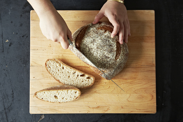 Way to Use the Heels of Bread Loaves, from Food52