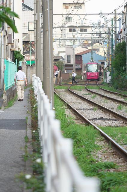 Tokyo Train Story 都電荒川線 2014年6月14日