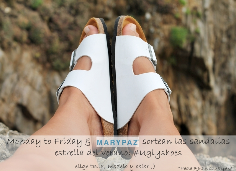 sorteo ugly shoes marypaz monday to friday