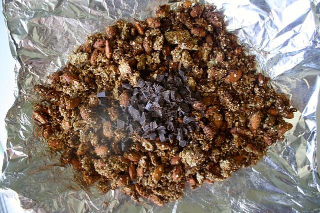 oat-free dark chocolate espresso granola