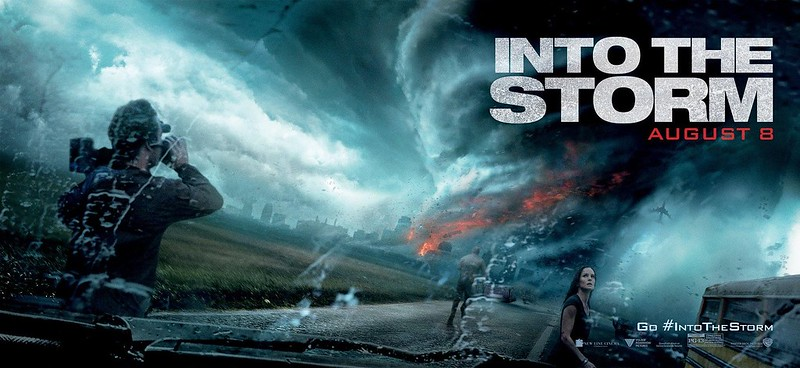 "DISASTER FILM'S MAIN TRAILER, POSTER GETS ""INTO THE STORM ..."