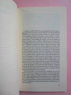 Fogli di via, di Tullio Pericoli. Einaudi 1976. Responsabilità grafica non indicata [Bruno Munari]. Incipit della prefazione, il tiolo non è indicato (part.), 1