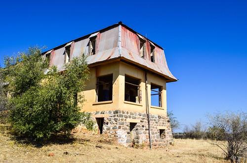 Maison Liebig dans la région montagneuse de Khomas, Namibie