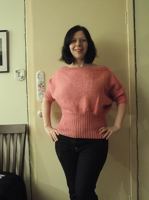 vogue off the shoulder pullover