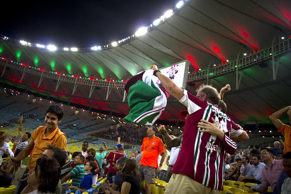 Celebrando en Maracaná