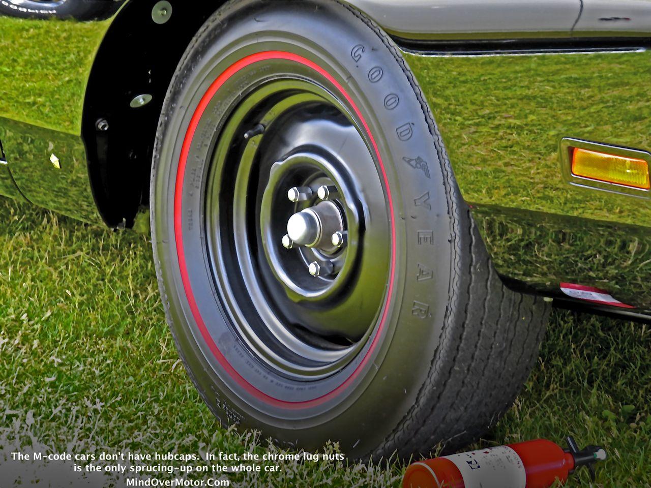 1969 Plymouth Road Runner 440+6 Steel Wheel