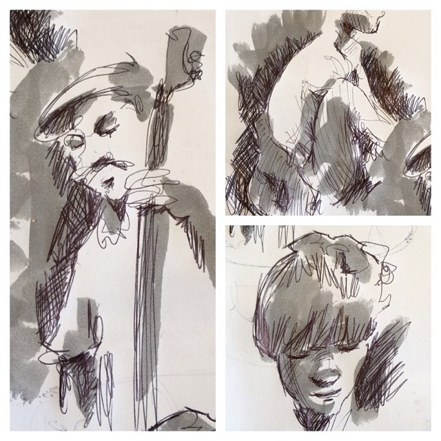 #doodles #bic #pentel