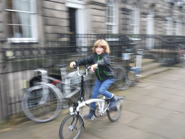 Sheffield Cycle Chic comes to Edinburgh