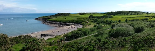 Hafan Y Mor - Bay, Golf Course and Headland