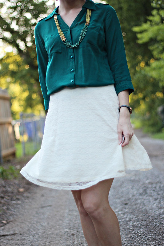lace-skirt-green-button-down-5