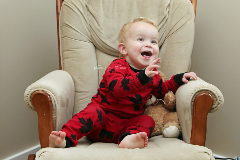 Ethan is 20 Months Old! | Nurse Loves Farmer