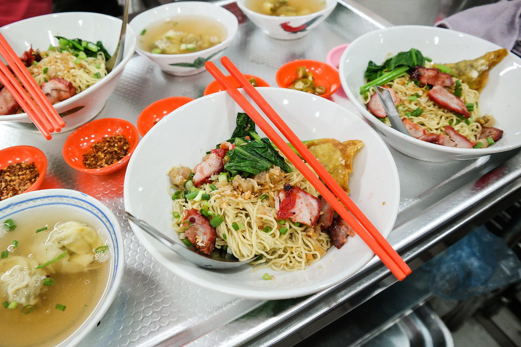 The Delicious Thai Wanton Mee of Soi 19
