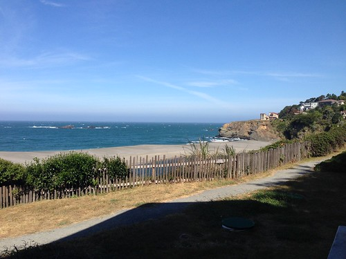View from the Seacliff on the Bluff Motel (Gualala, CA)