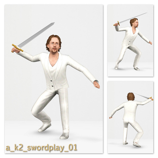 SwordPlay - Pose 01