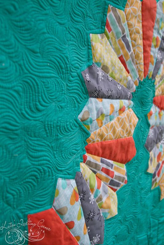 Hopscotch Lane - Modern Quilt Guild Michael Miller Challenge 2014
