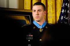 Donning the Medal of Honor