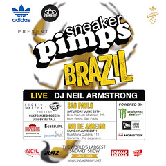 6/30 - SneakerPimps After Party Rio De Janeiro @ I HATE MONDAYS at Cave