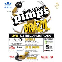 6/30 - SneakerPimps After Party Rio De Janeiro @ I HATE MONDAYS at Cave