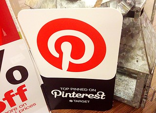 Pinterest Signs at Target Stores
