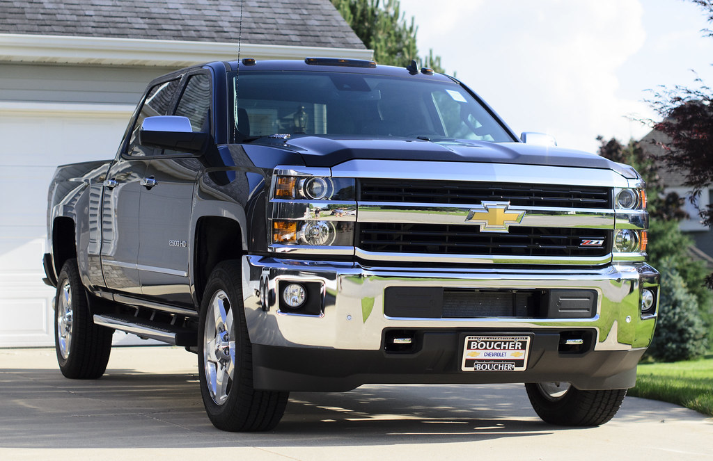Tungsten Metallic 2500HD Crew Cab, LTZ 4WD Duramax® Plus ...