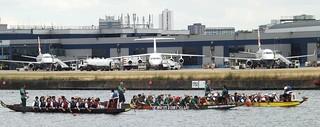 Ready for take off @ Royal Albert Dock 29-06-14