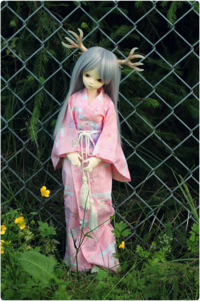 Pink yukata II