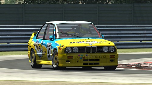 BMW E30 GrA DTM - Patrick Bourguignon - Supertourisme 1998 - Assetto Corsa