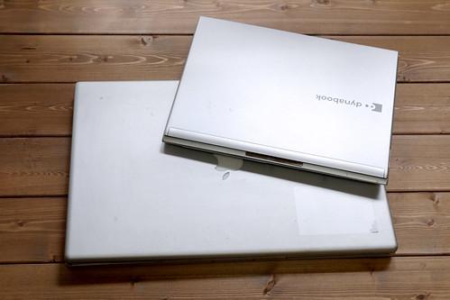 PoweBook-G4-17インチとdynabook