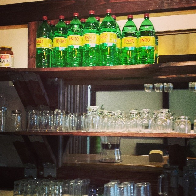 Happy top shelf #Jinro