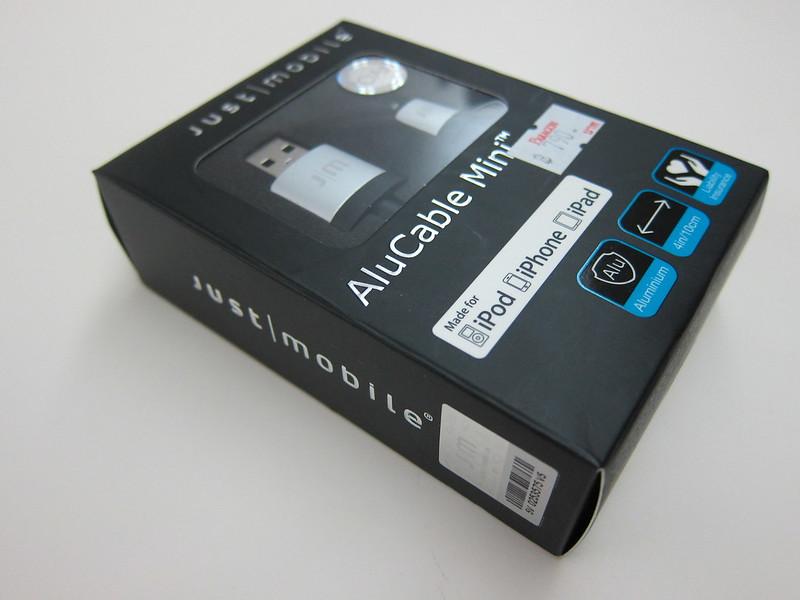 Just Mobile AluCable Mini - Box