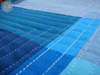"""""""Squares together"""" table topper"""