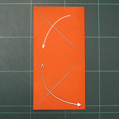 การพับกระดาษเป็นรูปปลาคาร์ฟ (Origami Koi Fish) 002