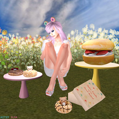 AK Donut Festival 2014 - Do You Speak Donut? (New Post @ Second Life Fashion Addict)