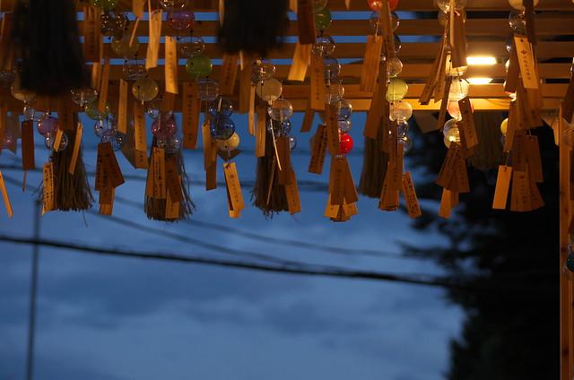 真夏の川越散歩 川越氷川神社 縁むすび風鈴 2014年8月2日